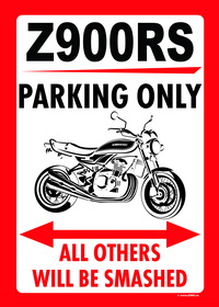 Z900RS PARKING ONLY