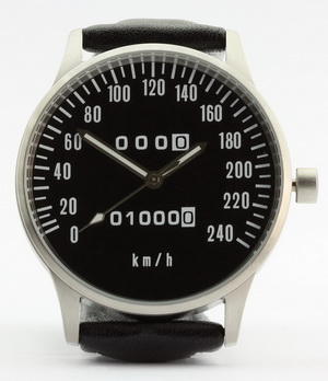 Z 1000, KZ 1000 and Z1-R speedometer kmh watch
