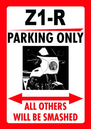 Z1-R PARKING ONLY