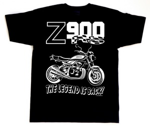 "The ""Z900RS THE LEGEND IS BACK"" t-shirt"