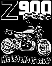 Z900.us T-Shirt Z900RS THE LEGEND IS BACK