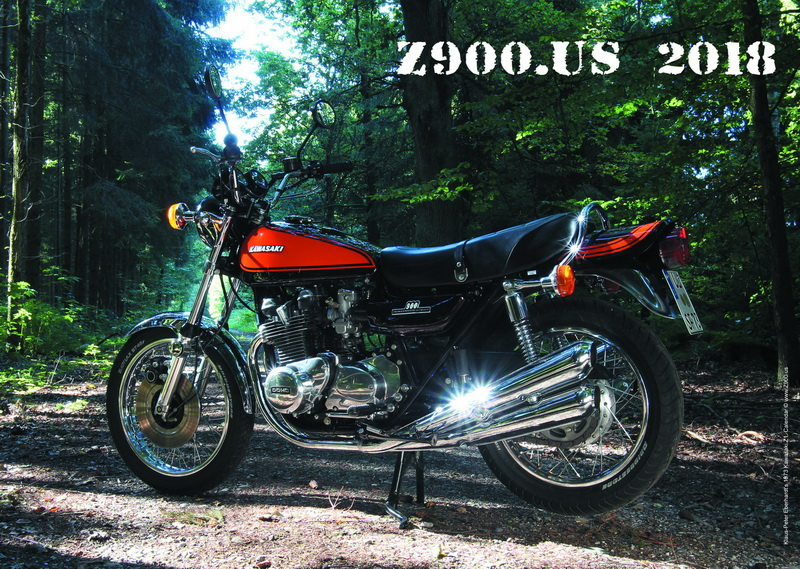 HOT-OFF-THE-PRESS! The Z900.us 2018 calendar