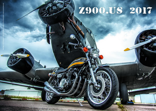 HOT-OFF-THE-PRESS! The Z900.us 2017 calendar