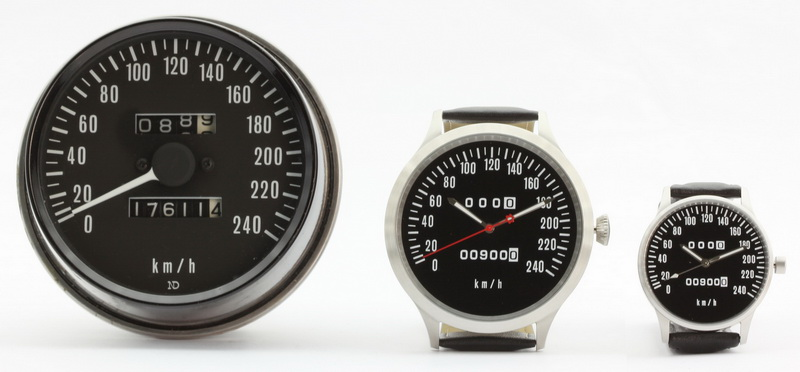 Z1 Z 900 KZ Caliber 65 Speedometer Km H And Mph Watches